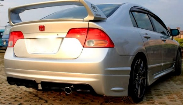 Civic Dr Muge Lip Rear