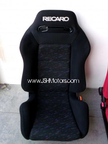 Black Recaro Confetti Seat