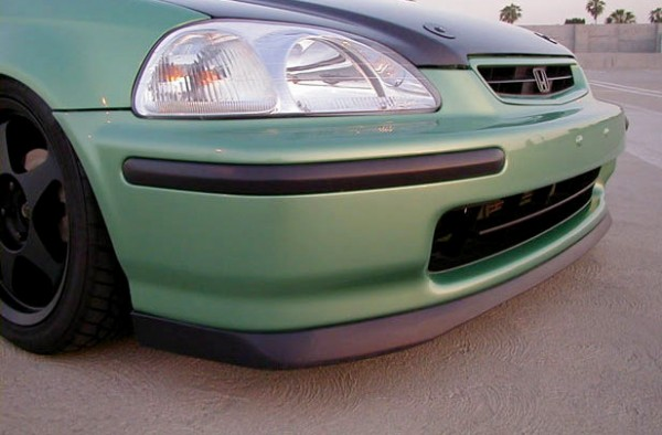 96 98 Honda Civic Sir Front Lip Urethane
