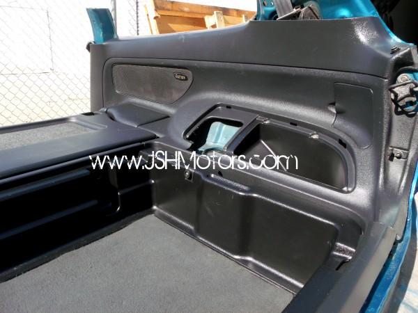 JDM Eg6 SiR-S Checkered Black Interior Conversion