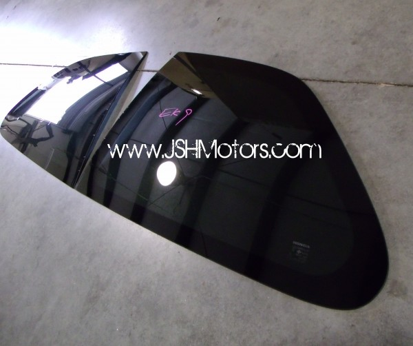 JDM Civic 96-00 Ek9 Quarter Panel Glass
