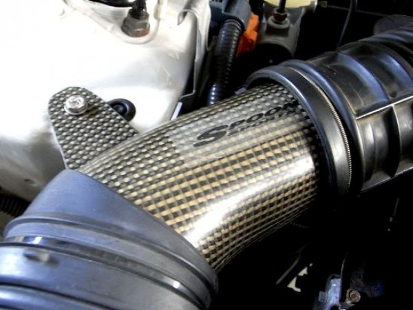 spoon sports carbon direct air flow pipe