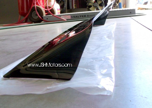 Sell 06 civic 2dr rear roof visor motorcycle in for 1997 honda civic window handle