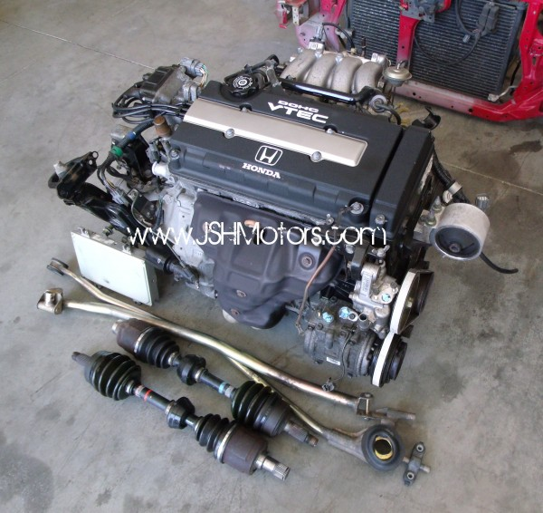 Jdm B C Gsr Swap Complete on Dc Integra