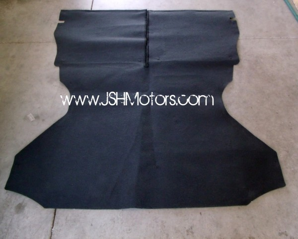 Civic Oem Trunk Carpet Black Color