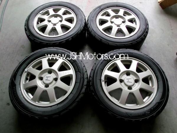 Jdm Accord Sir Cf4 Wheels W Yokohama Tires