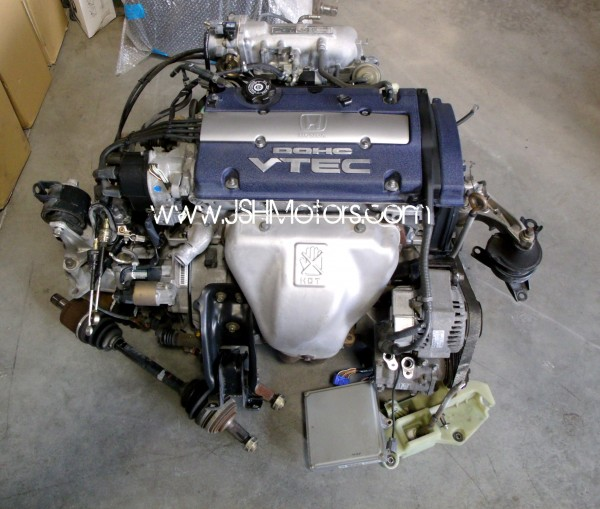 JDM F20b Motor Swap Complete