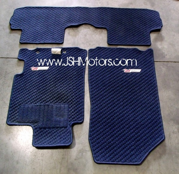 JDM Integra DC5 Type R Blue Floor Mats Set