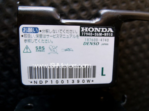 integra dc front impact air bag sensors