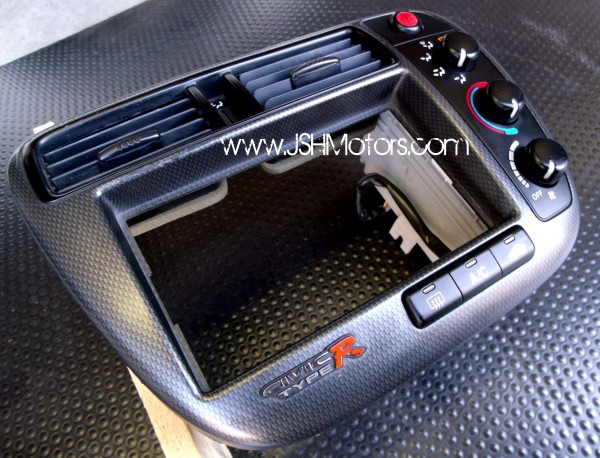 jdm   civic type  ek climate control carbon