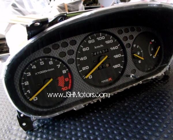 Jdm Ek Civic Type R Gauge Cluster