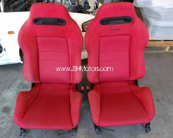Jdm Civic Ek9 Red Recaro Seats