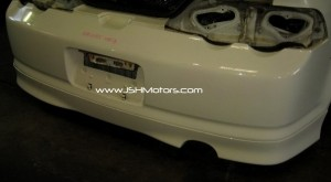 02-04 RSX Type R Rear Lip