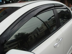06-09 Civic 4 Door Mugen Window Visors