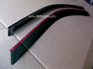 02-05 Honda Civic Si Door Visors EP3
