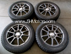 JDM 5x114 Claire S10 Wheel Set