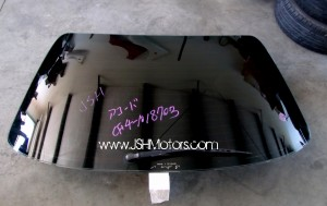 JDM Accord CF4 Rear Windshield w/Wiper Blade
