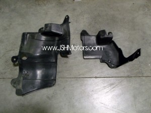 96-00 Civic Ek Engine Splash Guards