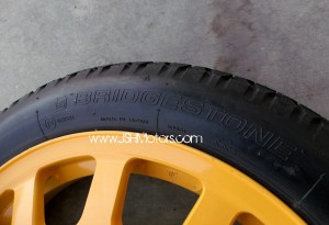 JDM Integra Dc5 17 Spare Tire