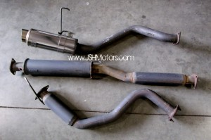 JDM Dc2 Integra 5Zigen Cat Back Exhaust