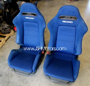 JDM Dc5 Integra Type R Blue Recaro Seats