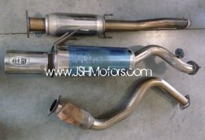 Kakimoto Racing Cat Back Exhaust DB8