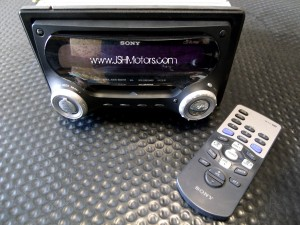 Sony Double Din CD & Mini Disc Player