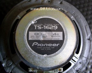 Pioneer Carrozzeria Three Way Speakers