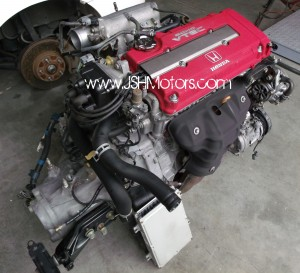 JDM B18c Type R Engine, Transmission, Ecu