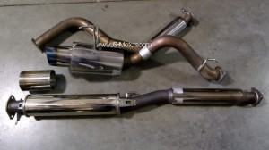 Civic EK9 5Zigen Pro Racer Cat Back Exhaust