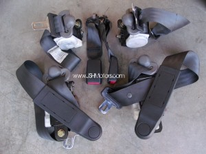 Civic Ek9 Dark Grey OEM Front & Rear Seat Belts