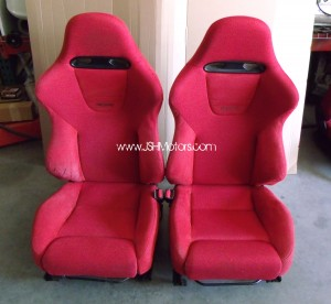 JDM Ep3 Civic Type R Red Recaro Seats