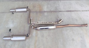 JDM CL1 Accord Euro R Mugen Exhaust