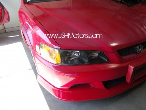 JDM Accord CL1 Euro R Front End Conversion