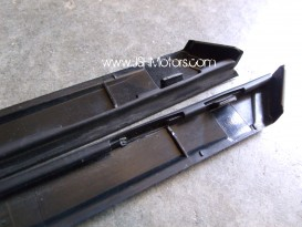 Civic FD2 Front Pillar Glass Exterior Trims
