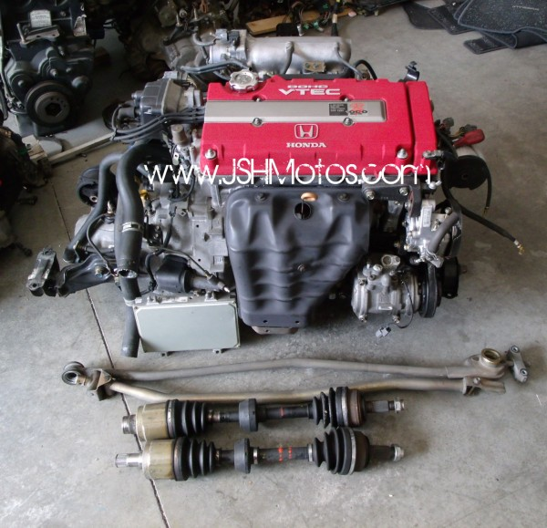 98 Spec B18c Type R Swap Complete