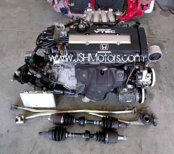 JDM B18c GSR Swap Complete