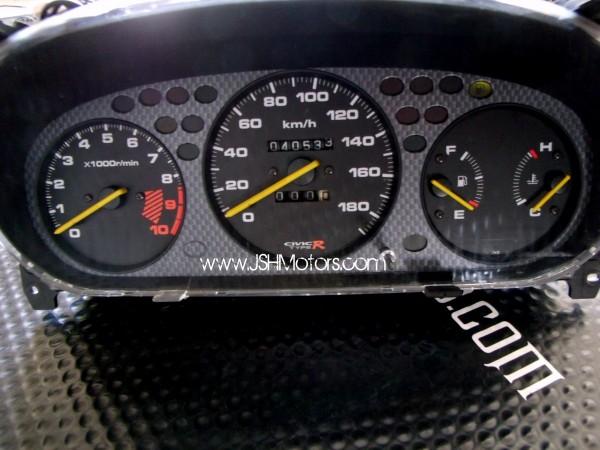 jdm ek civic type  gauge cluster