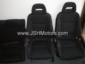 JDM SiR-G front and rear seats