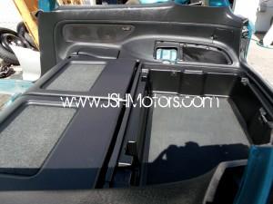 JDM Eg6 SiR S Checkered Black Interior Conversion